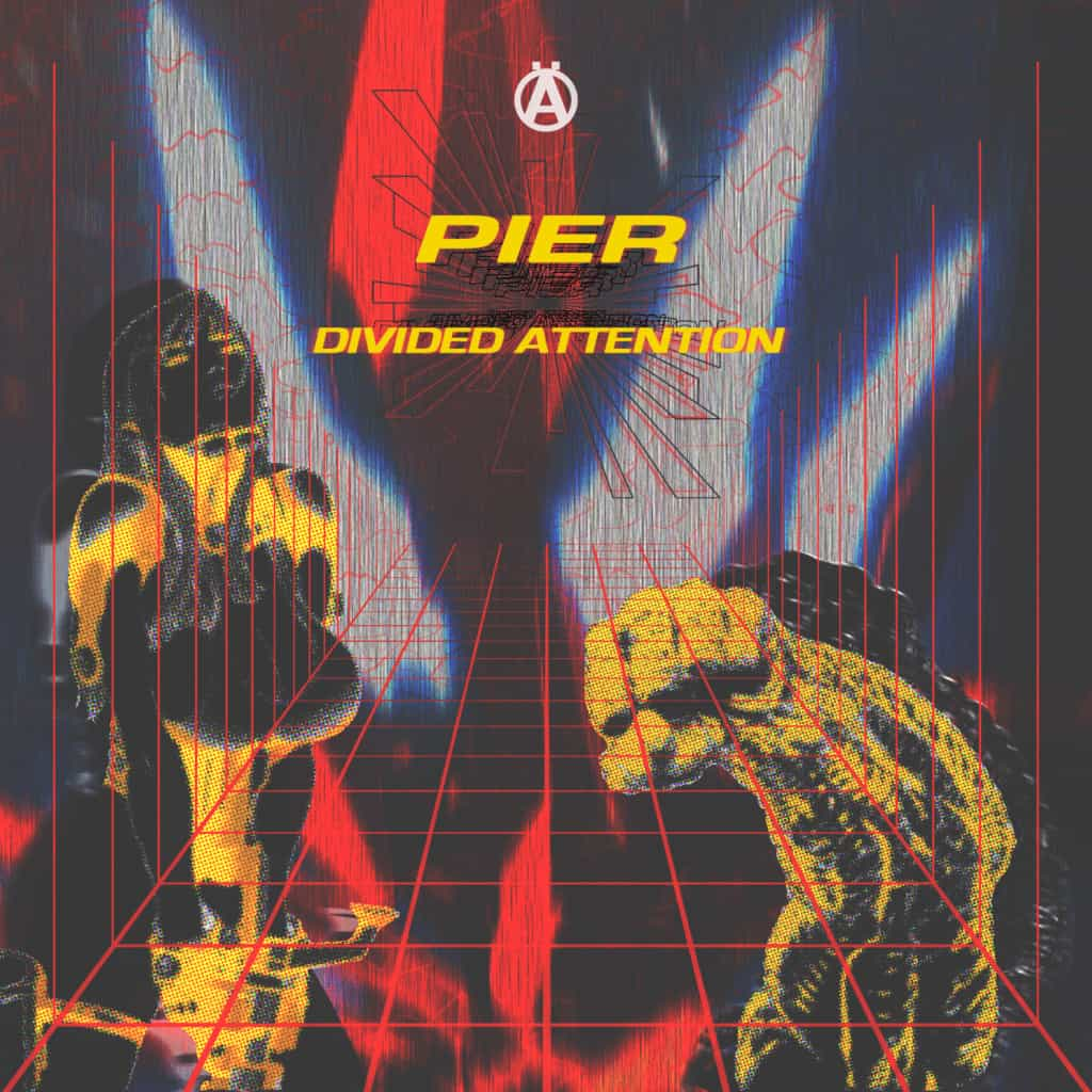 MRKD010 - Pier - Divided Attention EP (Ft. JoeFarr, Corroid & SDB)